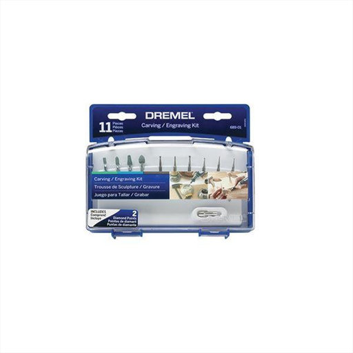 View a Larger Image of Carving Engraving Kit, 11pc