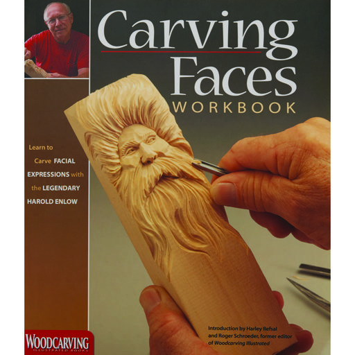View a Larger Image of Carving Faces Workbook