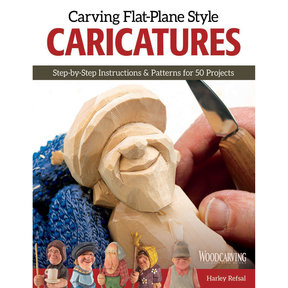 Carving Flat-Plane Style Caricatures