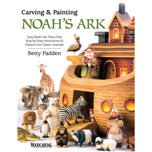 View a Larger Image of Carving and Painting Noah's Ark