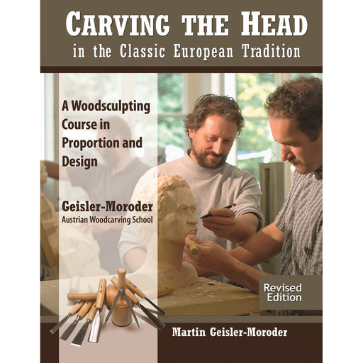 View a Larger Image of Carving the Head in the Classic European Tradition