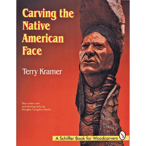 View a Larger Image of Carving the Native American Face