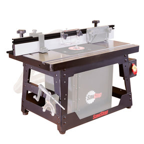 Cast Iron Benchtop Router Table Kit