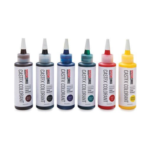 View a Larger Image of CASTFX TAPPS RED Liquid Colorant, 4OZ