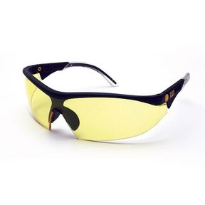 Digger Safety Glasses with Yellow Lenses and Brow Guard