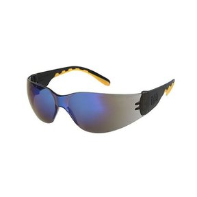 Track Safety Glasses with Blue Lenses