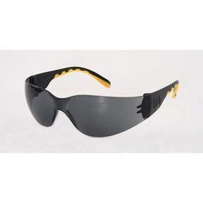 Track Safety Glasses with Smoke Lenses