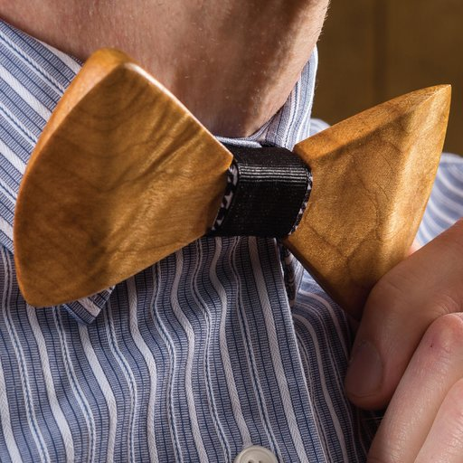 View a Larger Image of Celebrate in Style Wooden Bow Tie Downloadable Plan