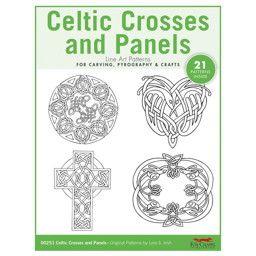 View a Larger Image of Celtic Crosses and Panels Pattern Pack