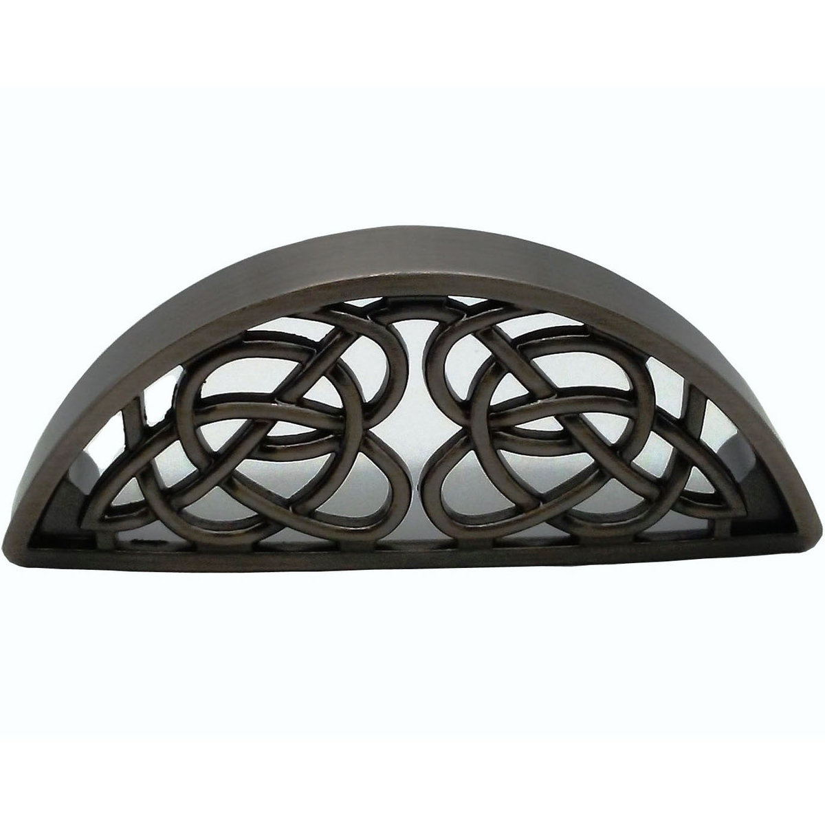 View a Larger Image of Celtic Cup Pull, Satin Nickel Oxide