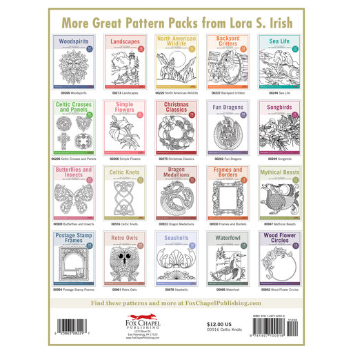 View a Larger Image of Celtic Knots Pattern Pack