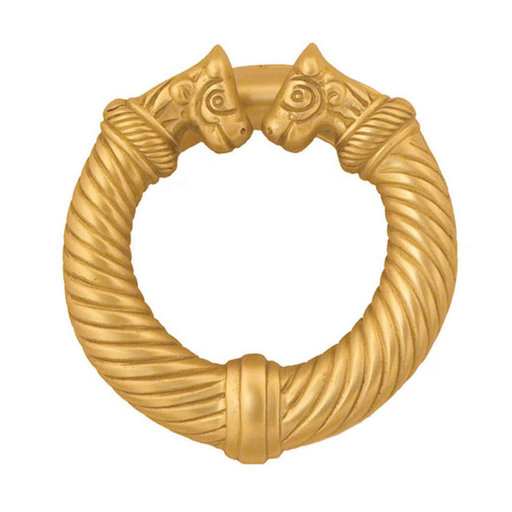 View a Larger Image of Celtic Torc Door Knocker - Brass