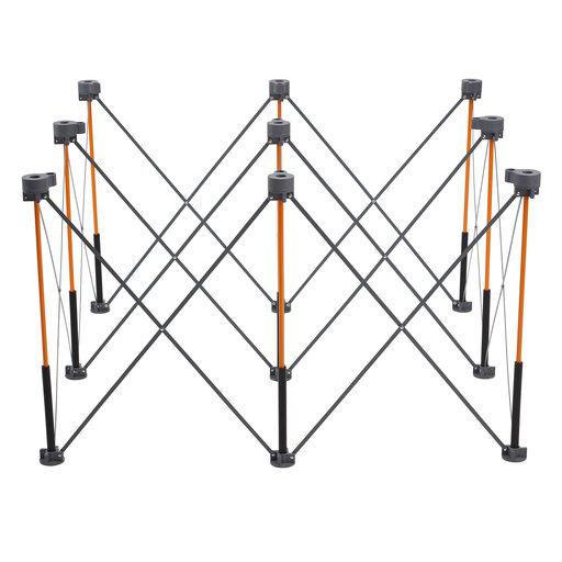 View a Larger Image of Centipede 4ft x 4ft Unit, 4 X-Cups, 4 Quick Clamps, C/S Bag