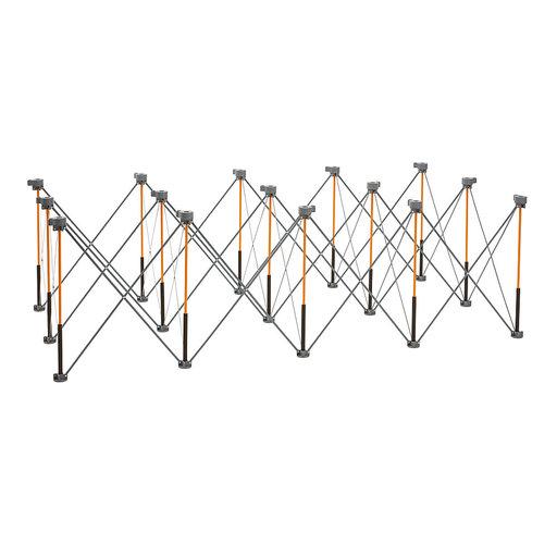 View a Larger Image of Centipede 4ft x 8ft Unit, 4 X-Cups, 4 Quick Clamps, C/S Bag