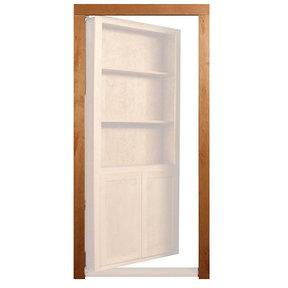 Cherry Trim Molding Accessory for 32 in. or 36 in. InvisiDoor Bookcase Door