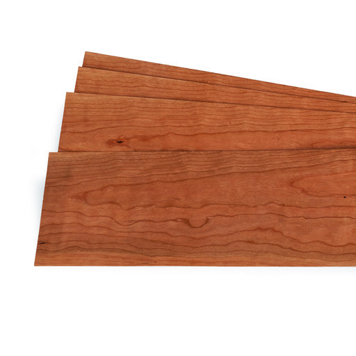 """View a Larger Image of Cherry 1/16"""" Thick 4-1/2"""" to 7-1/2"""" Width 3 sq ft Pack Wood Veneer"""