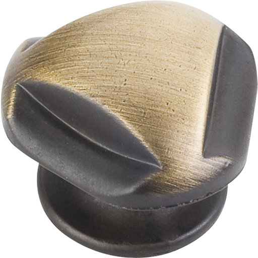 """View a Larger Image of Chesapeake Knob, 1-5/16"""" Dia.,  Antique Brushed Satin Brass"""