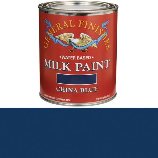 View a Larger Image of China Blue Milk Paint Water Based Quart
