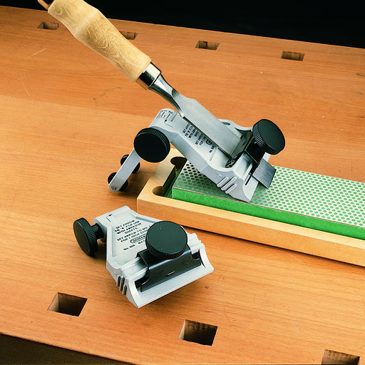 View a Larger Image of Chisel and Plane Blade Sharpening Guide