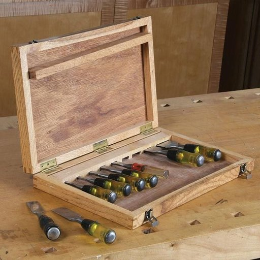 View a Larger Image of Chisel Box - Downloadable Plan