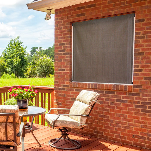 View a Larger Image of Choice Cordless Outdoor Sun Shade, 10' W x 6' L, Cabo Sand