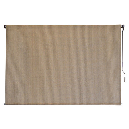 View a Larger Image of Choice Cordless Outdoor Sun Shade, 10' W x 6' L, Canyon