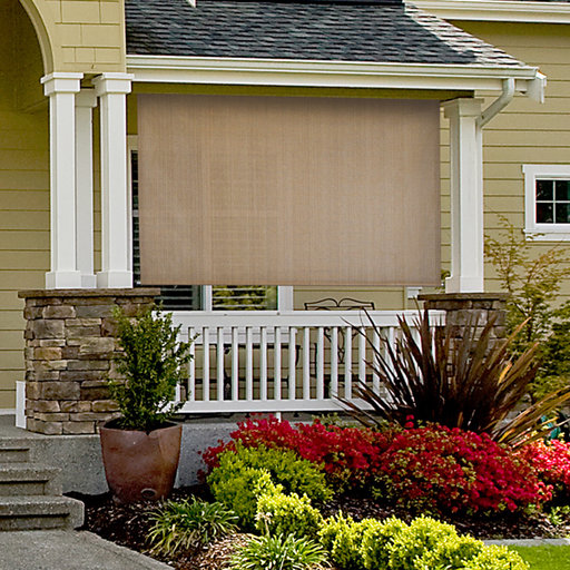 View a Larger Image of Choice Cordless Outdoor Sun Shade, 6' W x 6' L, Canyon