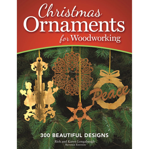 View a Larger Image of Christmas Ornaments for Woodworking