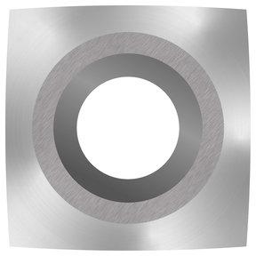 "Ci1-R2 Square 2"" Radius Negative Rake Carbide Cutter"