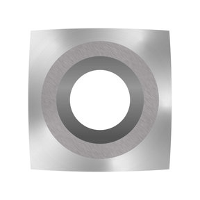 "Ci2-R2 Square 2"" Radius Negative Rake Carbide Cutter"
