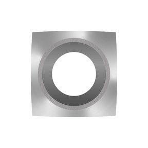 "Ci6-R1 Square 1"" Radius Negative Rake Carbide Cutter"