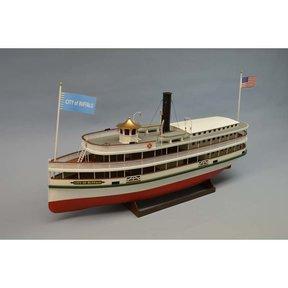 City of Buffalo Lake Steamer Boat Model Kit