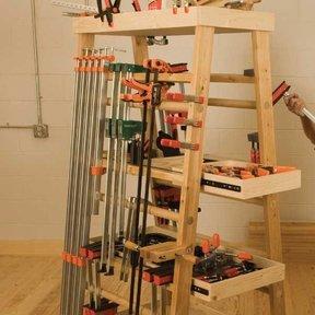 Clamp Rack - Downloadable Plan
