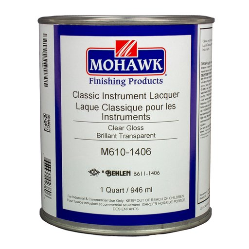 View a Larger Image of Mohawk Classic Instrument Lacquer - Gloss - Quart