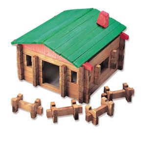 Classic Large Log Cabin 140 pc Set