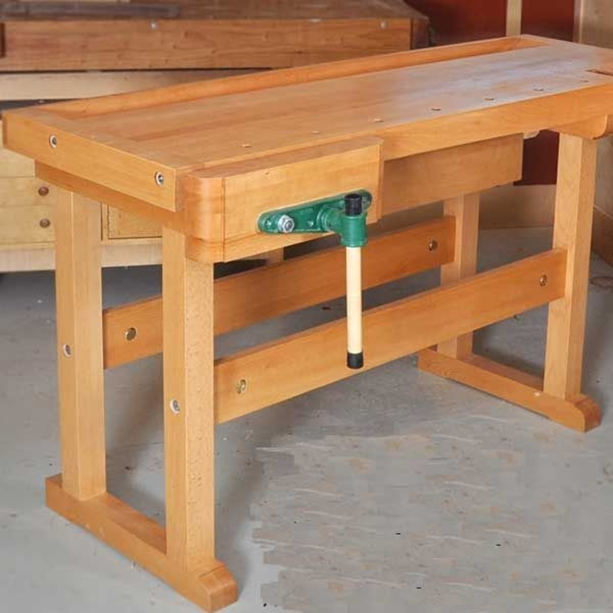 View a Larger Image of Classic Workbench - Downloadable Plan