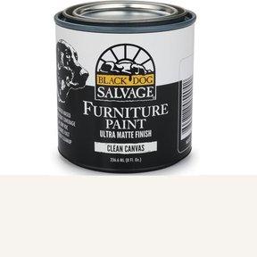 Clean Canvas - White Furniture Paint, 1/2 Pint 236.6ml (8 fl. Oz.)