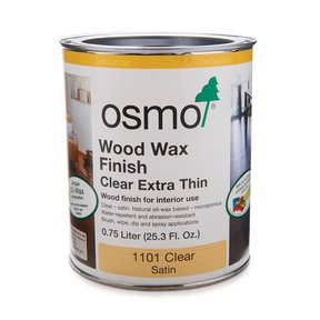 Clear Wood Wax Extra Thin 1101Solvent Based .75 l