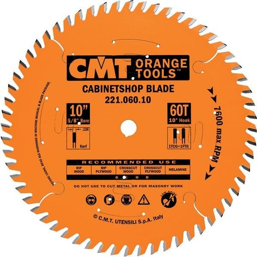 """View a Larger Image of 221.072.12 Circular Saw Blade 12"""" x 1"""" Bore x 72 Tooth TCG"""