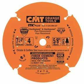 """236.004.07 Miter Saw/Circular Saw Blade, 7-1/4"""" x 4T x 5/8"""" bore"""