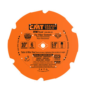 """236.006.10 Miter Saw/Table Saw Blade, 10"""" x 6T x 5/8"""" bore"""