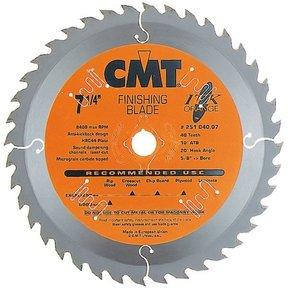 """251.040.07 Circular Saw Blade 7-1/4"""" x 5/8"""" Bore x 40 Tooth ATB"""