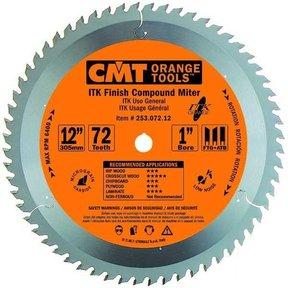 "253.072.12 ITK Finish Compound Miter Saw Blade, 12"", 72 Teeth"