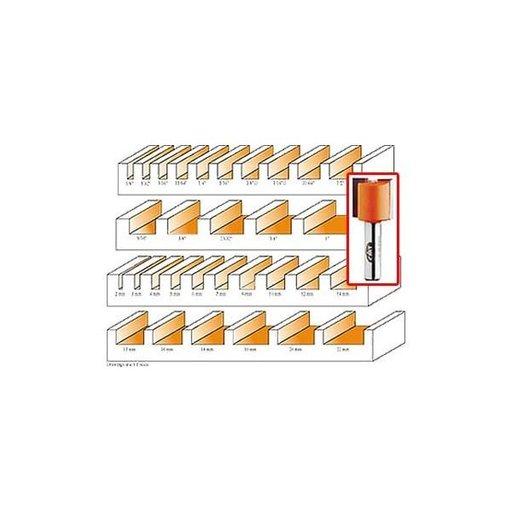 "View a Larger Image of 811.158.11B Pattern Router Bit 1/4""SH 5/8""D 3/4""CL 2-5/8""OL 5/8""BD"