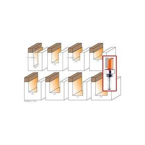 "811.222.11B Pattern Router Bit 3/8""Sh 7/8""D 1""CL 2-5/8""OL 7/8""BD"