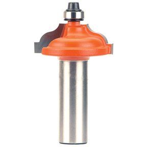 """847.825.11 Ogee with Fillet Router Bit with Inset Bead 1/2""""SH 3/16""""-9/64""""R 1-3/8""""OD 1/2""""CL"""