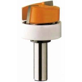 """852.001.11B Dado And Planer Router Bit with Top Bearing 1/4""""SH 3/4""""D 3/8""""CL 3/4""""BD"""