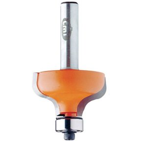 """860.540.11 Ogee Router Bit with Inset Bead 1/2""""SH 5/32""""R 1-1/8""""D 1/2""""CL"""