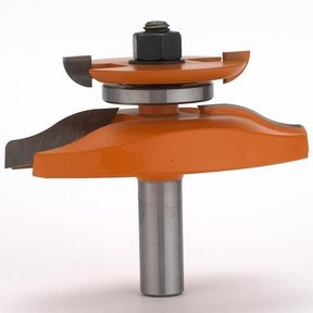 """890.524.11 Raised Panel Router Bit with Back Cutter 3-1/2"""" Diameter"""
