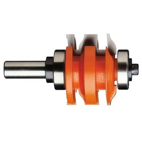 """891.521.11 One Piece Rail And Stile Router Bit A 23/32"""" to 7/8"""" 1/2"""" SH 2"""" OD 23/32"""" to 7/8"""" ST"""